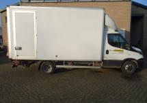 Bestelwagen met laadlift (klein rijbewijs)